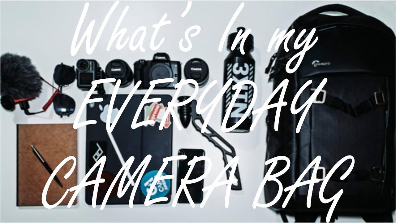 My Everyday Carry Camera Bag (2020)