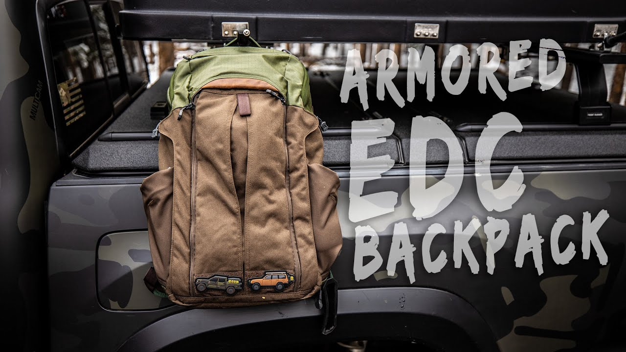 BULLETPROOF EDC Backpack - Everyday Carry Laptop Bag Contents - Vertx Gamut +