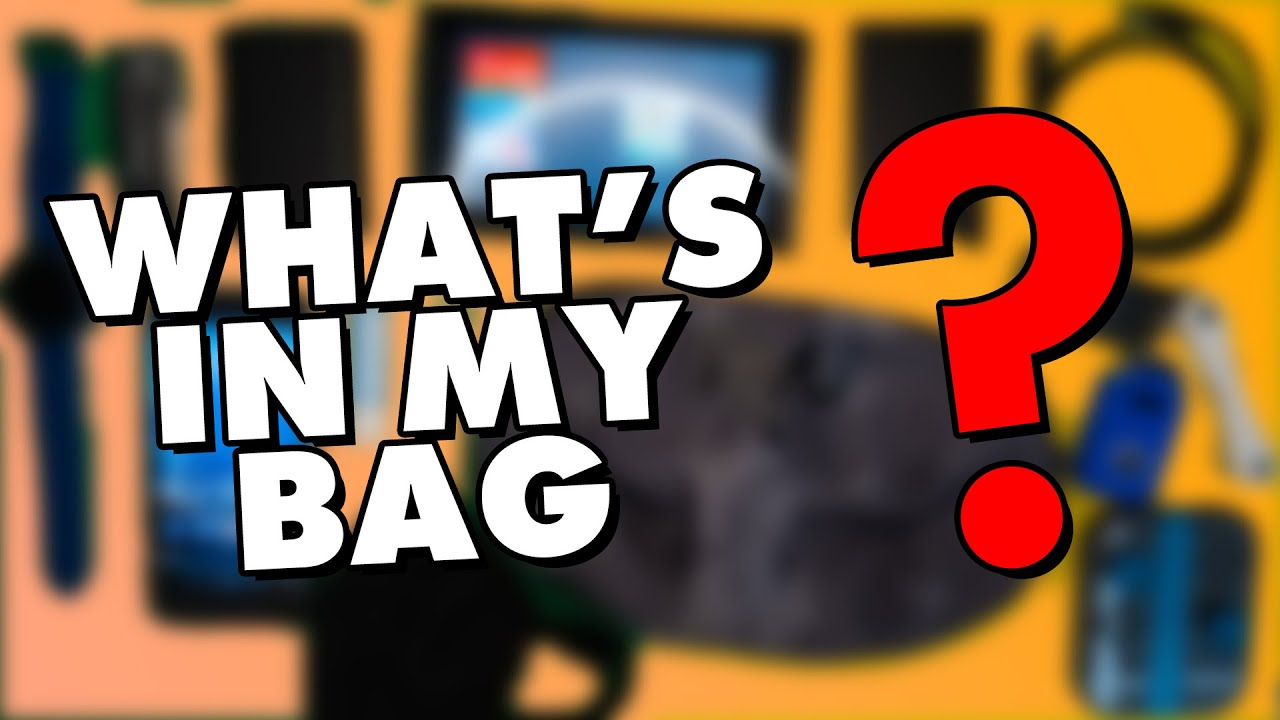 What's In My Everyday Carry Bag?