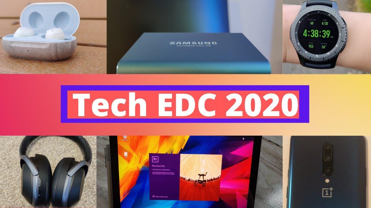 My Tech EDC 2020! - Everyday Carry Tech