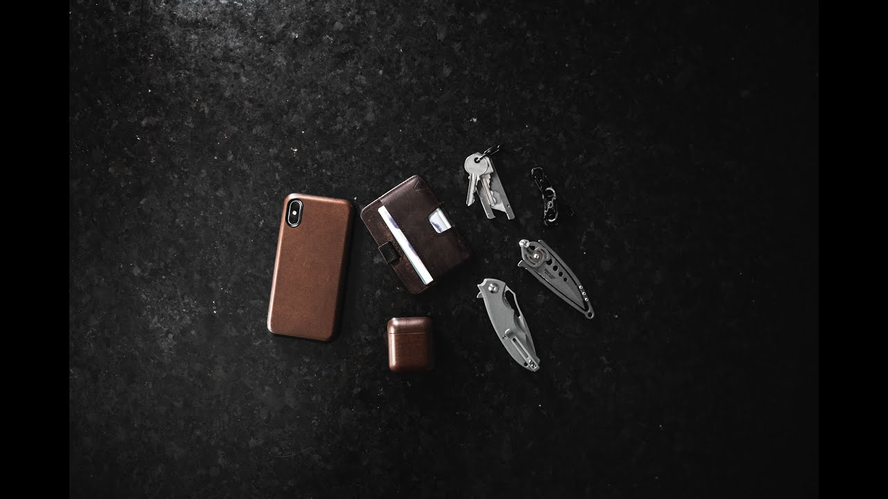 Brown Leather Summer EDC - Everyday Carry
