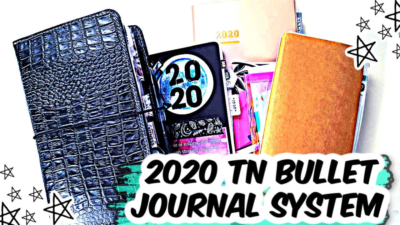 My Everyday Carry * Bullet Journal * Planner Perfect * TN *  2020