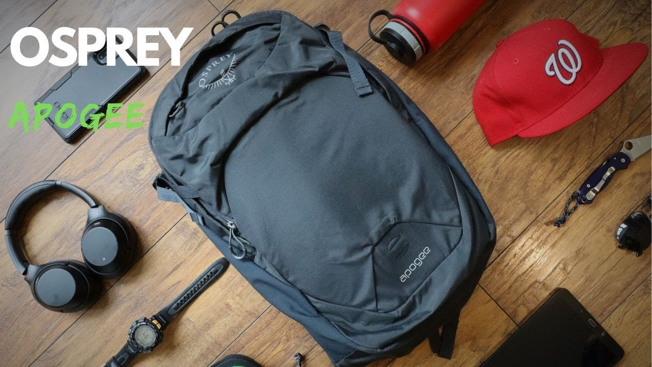 Osprey Apogee: NO FRILLS Everyday Carry Backpack