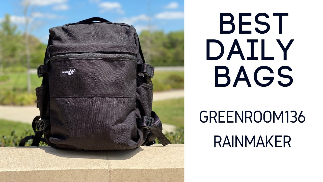 Best Everyday Carry (EDC) Bags: Greenroom136 Rainmaker Review