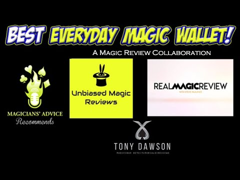 Best Everyday Carry Magic Wallet! | Collaboration Video!