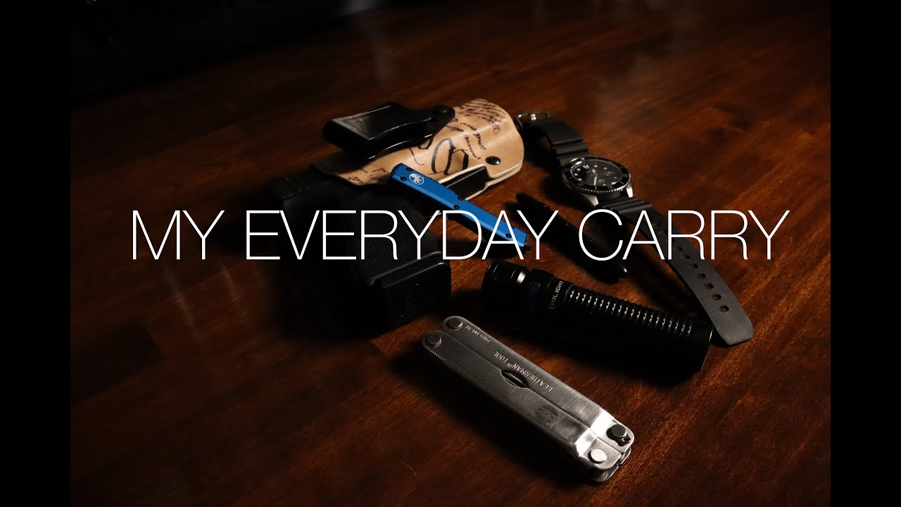 The perfect EDC in 2021? (Everyday carry)